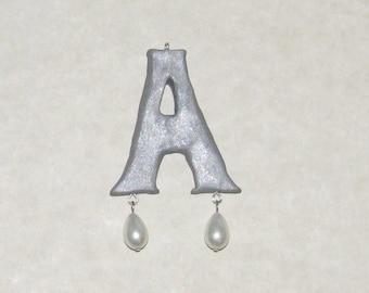 Anne Boleyn Style Letter Bead - Customizable