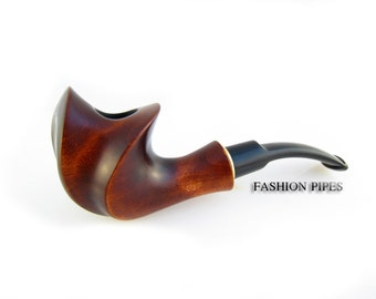 "New, Exclusive Pipe ""COMET"" Smoking pipe Classic Wooden pipe Handcrafted Tobacco Pipe/Pipes, Limited Edition"
