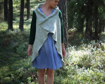 Spring Cardigan. Asymmetric Cardigan. Cardigan wrap. Maternity clothes. Shawl wrap.