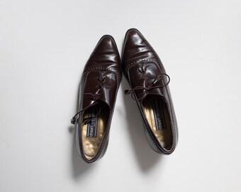 SALE Vintage brown stuart weitzman brogues