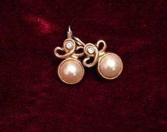 Vintage 1930s Pearl Earrings