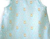 sundress toddler girl dress owl baby dress boutique toddler dress handmade baby clothes baby girl lightweight summer dress girls jumper