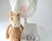 Monogrammed Baby Bloomers - Diaper Covers