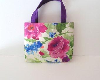 Floral Tote Purse/SpringTablet-Bible Tote