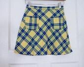"""VTG Sisley Mini Skirt 24"""""""
