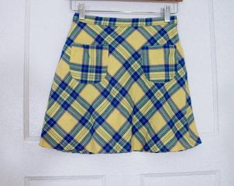 """VTG Girls Sisley Mini Skirt 24"""""""