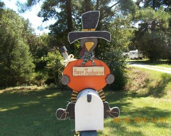 Pilgrim Turkey Mailbox Topper