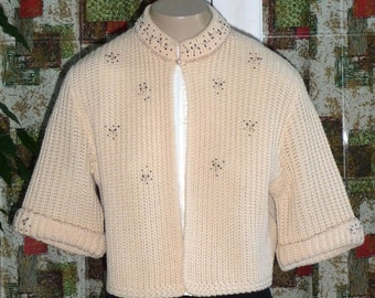1950s Crop Sweater #2.