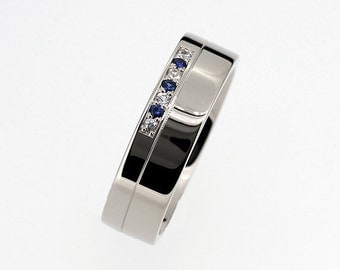 Blue Sapphire Ring For Man Malaysia