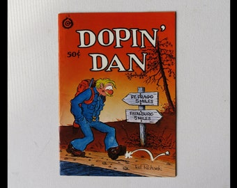 Dopin Dan Volume 1 Number 3 October 1973 50 cent cover price Mature Content