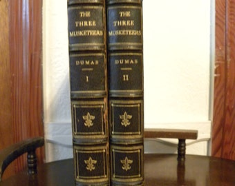 The Three Musketeers Rowland Wheelwright Illustrations 1920 Two Volumes