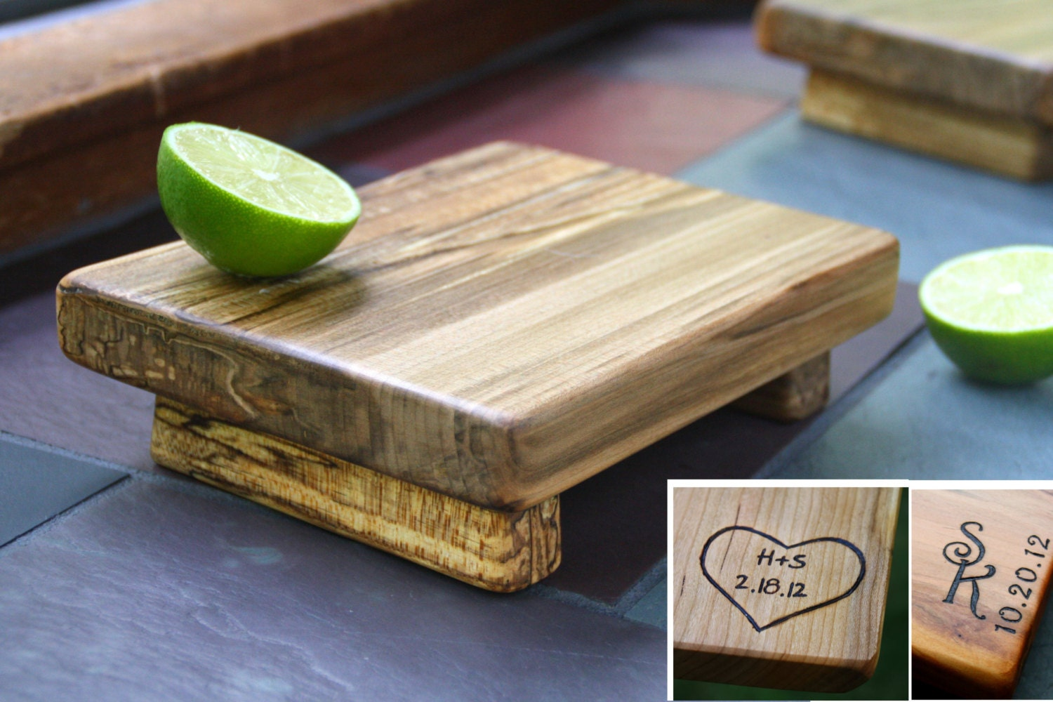 Cutting Board Personalized Unique Wedding Gift 5th