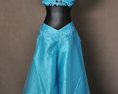 Aladdin Princess Jasmine Adult Cosplay Costume Gown Dress