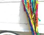 Hand Dyed Crochet Radiant Dreamcatcher
