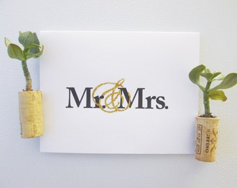 Mr. & Mrs. - Marriage Equality Card