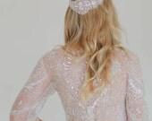 Methody - Bohemian Embroidered Crystal Wrap Headpiece