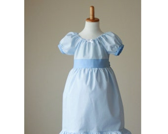 Wendy Costume - Wendy Darling - Wendy Nightgown- Wendy Dress - Wendy Darling Dress - Peter Pan  - Wendy Darling Costume - Wendy Gown