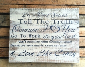Love Like Crazy Sign, Rustic Country Song Pallet, Country Lyrics Sign, Lee Brice Lyrics, Lee Brice Sign, Prayin Knees Sign