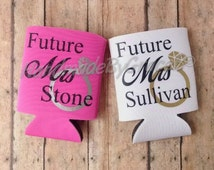 Future Mrs Can Holder- Engagement, Ring, Mrs., Wedding, Gift, Engaged, Bling, Silver, Gold, Sparkle, Glitter, She Said Yes, Bride