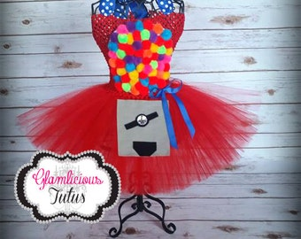 Gumball machine Tutu dress  | Tutu dress| Halloween Costume | Newborn-Adult