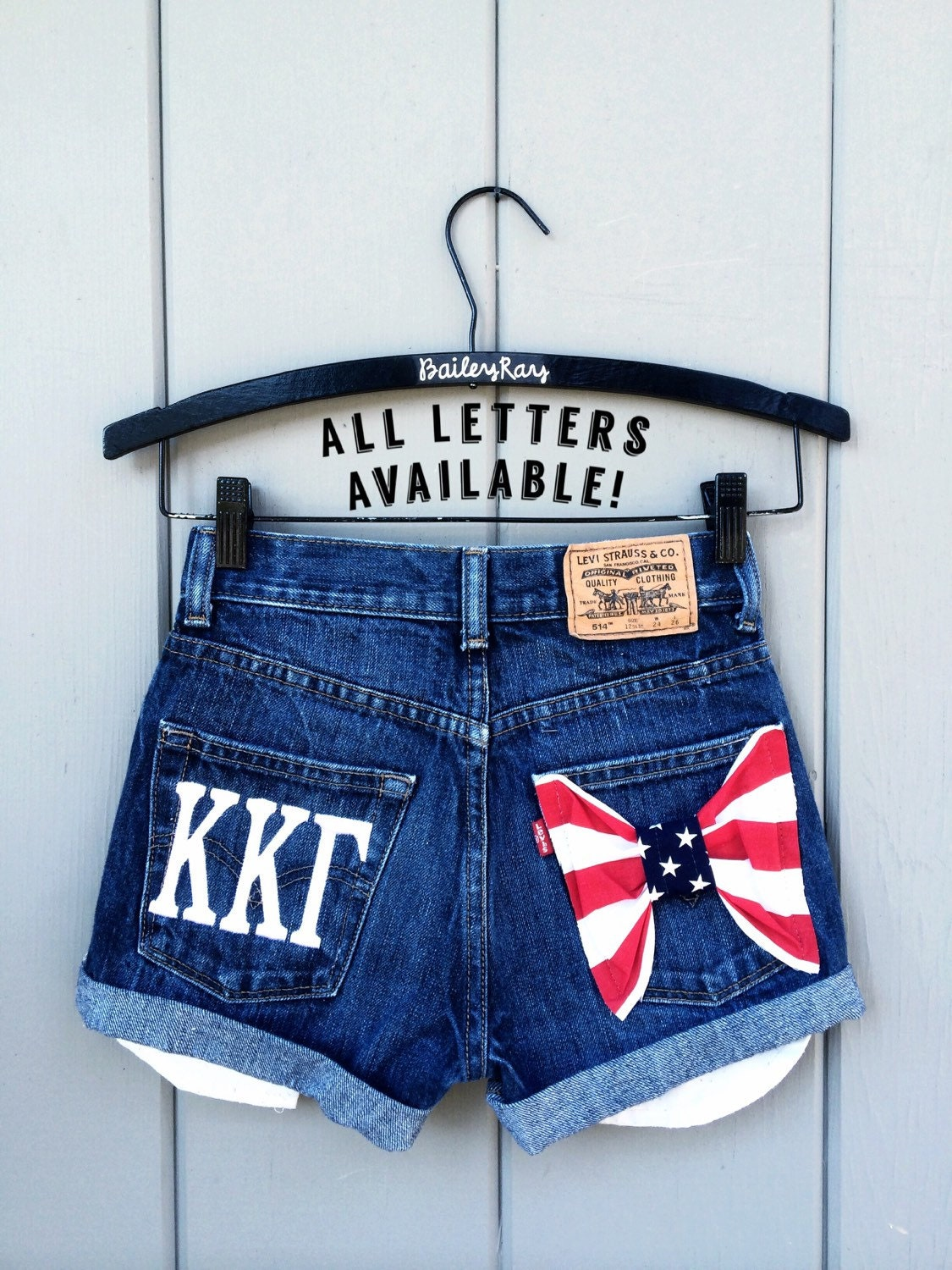 sorority embroidered greek letters levi high by baileyrayandco With sorority embroidered letters