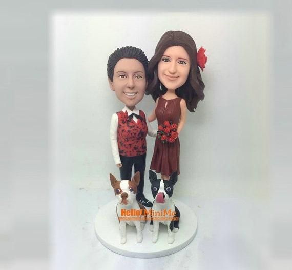 wedding cake topper bobblehead same sex wedding cake toppers. Black Bedroom Furniture Sets. Home Design Ideas