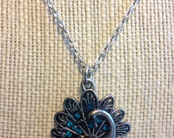 """18"""" Peacock Necklace"""