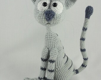 Amigurumi Crochet Pattern - Kit the Cat