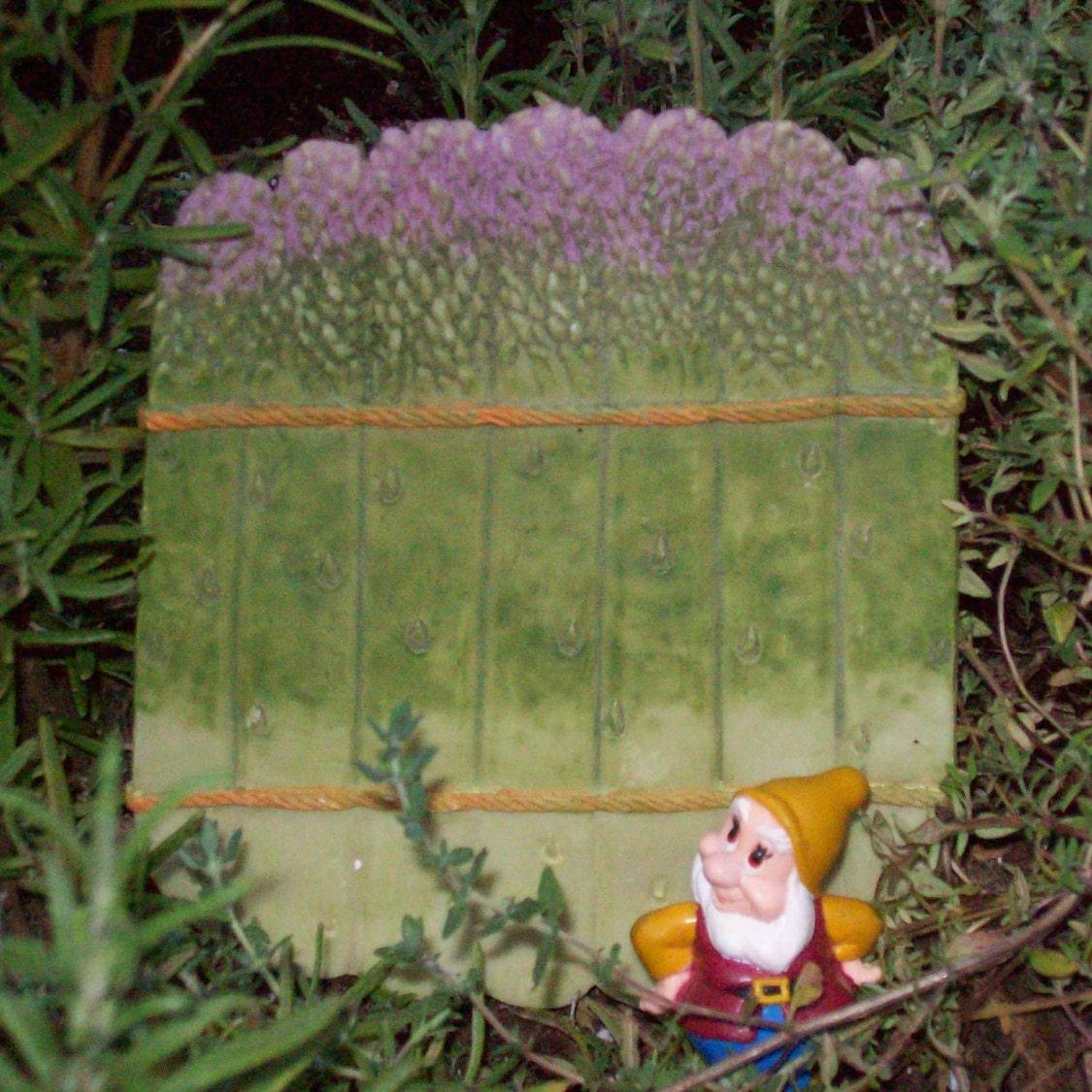 DIY Fairy Garden Gate fairy garden fence fairy garden supply