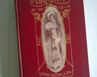 FINAL SALE CLEARANCE D'ri and I by Irving Bacheller Illustrated by F. C. Yohn Antique Hardcover Book Vintage Edwardian Novel Chic Home Decor