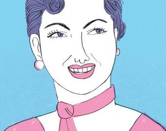 Patsy Cline 8x10 Print