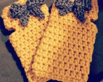 Kids Finger-less Gloves