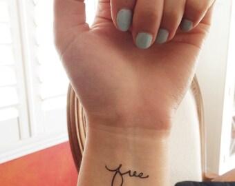 Free medium - Spirit Ink Temporary Tattoos