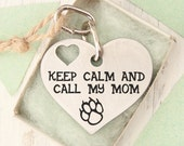 custom two-sides Heart Dog Tag - Customized Pet ID Tag - Name Tags - Personalized Pet ID Tags - Engraved Identification