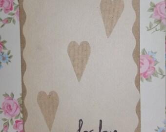 For Love Confetti Envelope