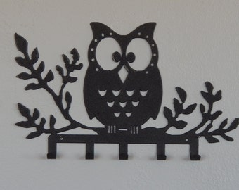 Owl key holder,owl wall decor,key rack,owl wall hook,key hook,owl decorations,owl hook,key hook rack,owl decor,owl gifts,owl bedroom decor