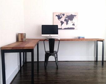 industrial desk | etsy
