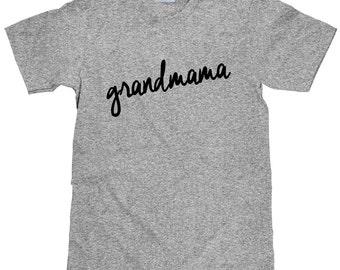 Grandmama Shirt - New Grandmama Gift Idea - Item 1423