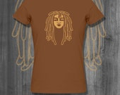 Dreaded Love T shirt Natural Hair T-Shirt  Black Lives Matter Plus Size Clothing African Clothing African Shirt Nubian Clothing