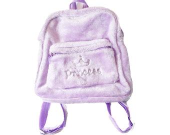 Pastel Mini Backpack - Pastel Grunge Mini Backpack - Princess - Baby Girl -  Pastel Bag - Pastel Purple