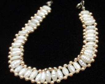 "Freshwater Pearls Bracelet 7 1/2"" Long"