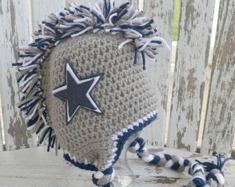 Cowboy Star Mohawk Hat
