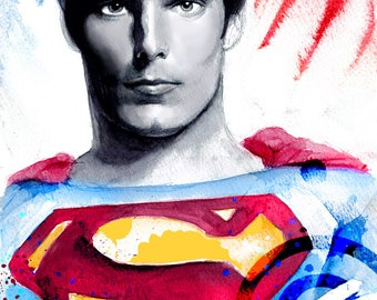 Superman (Christopher Reeve) - Wall Art