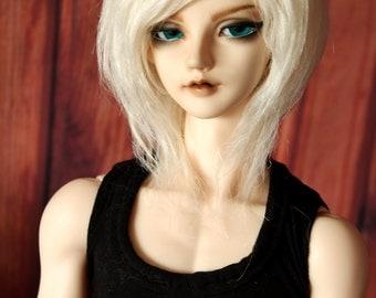 BJD Fur wig Creme White (choose you size)