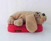 Pound Puppy Radio Plush Dog Toy 1980s (Not Working)