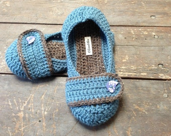 Crochet Slippers NON-SKID