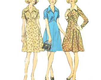 Simplicity 5914 Dress in Half Sizes Sewing Pattern New Uncut