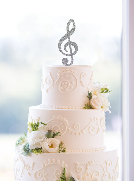musical wedding cake toppers note wedding cake topper cake topper by 17665