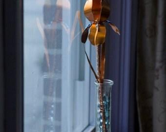 Hand Made Copper Iris