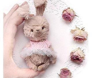 PDF Pattern artist teddy bear Rabbit 4 in (10 cm)